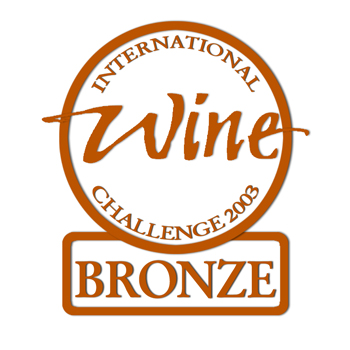 international wine challenge 2003 bronze medal