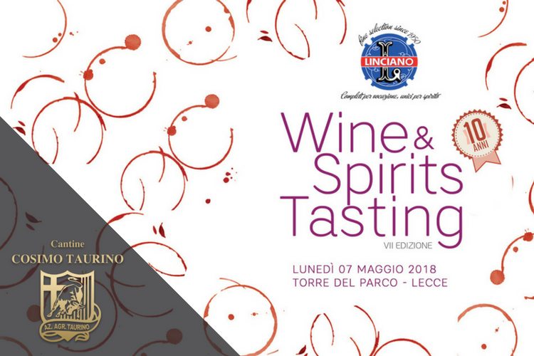Wine & Spirits Tasting 2018 - Lecce