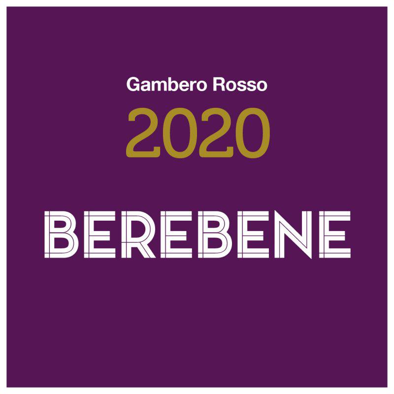 Gambero Rosso Puglia 2020 Premio Qualità Prezzo Berebene 2020