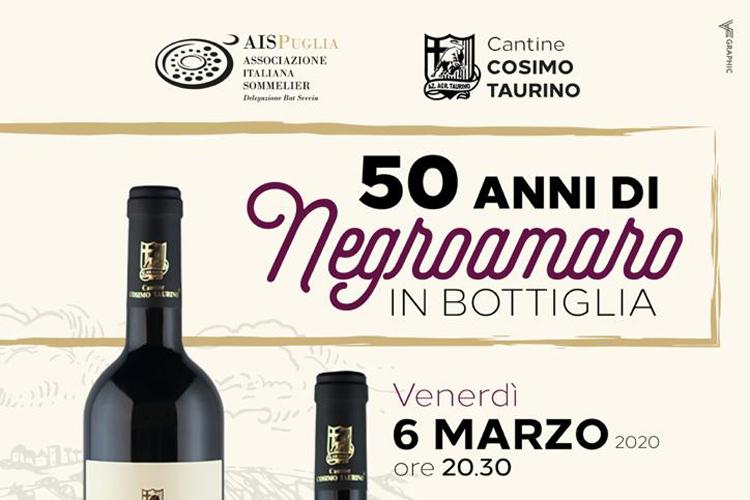 50 anni di Negroamaro