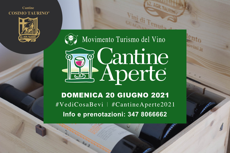 Cantine Aperte 2021 Cantine Cosimo Taurino